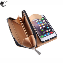 Hot Smartphone Accessories Wallet Design mobile flip cover phone bags & cases For iPhone 6/6s Plus