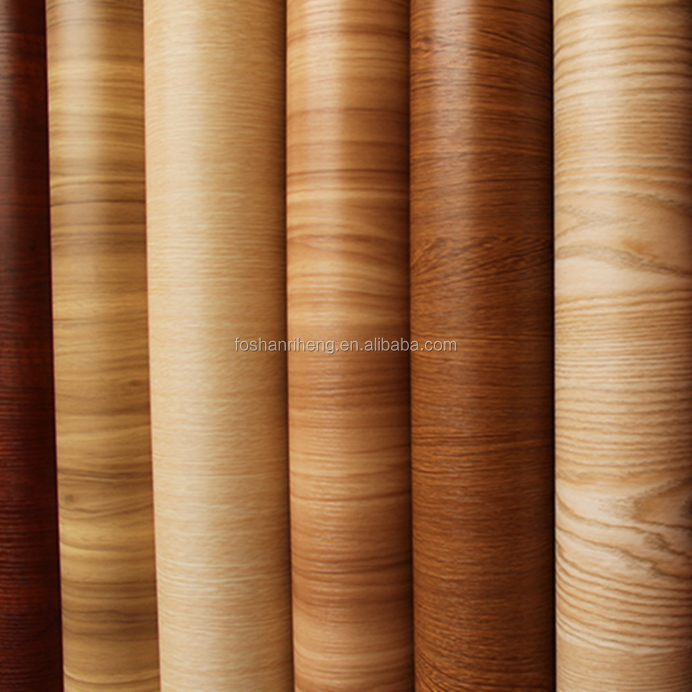 wood grain 2017 hot vacuum pvc 0.30mm