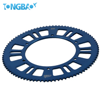 Superb hard anodized racing kart 219 motorcycle sprocket