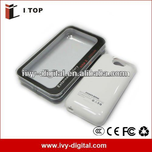 High Capacity! powe bank 3200mAh Backup Battery for HTC One X