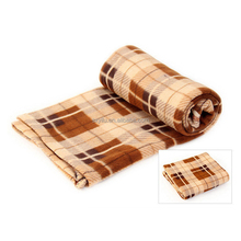 Polyester Printing Polar Fleece Blanket Throw Plush Adult