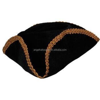 Sombrero adulto Jack Sparrow Piratas del Caribe Fancy dress para el Partido  OH2367 3e396961da6