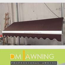 Commercial Manual Folding Arm Retractable Canopy Awning