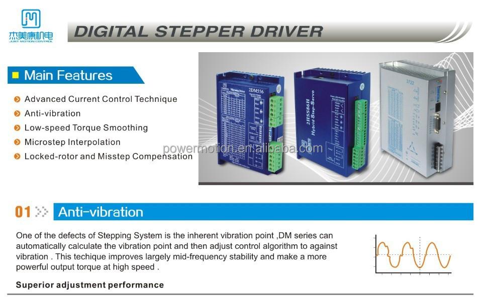 Jmc High Performance Auto-tuning Digital Stepper Motor Driver Microstep  Dm556 - Buy Digital Stepper Driver,Stepper Motor Driver,Stepping Motor  Driver