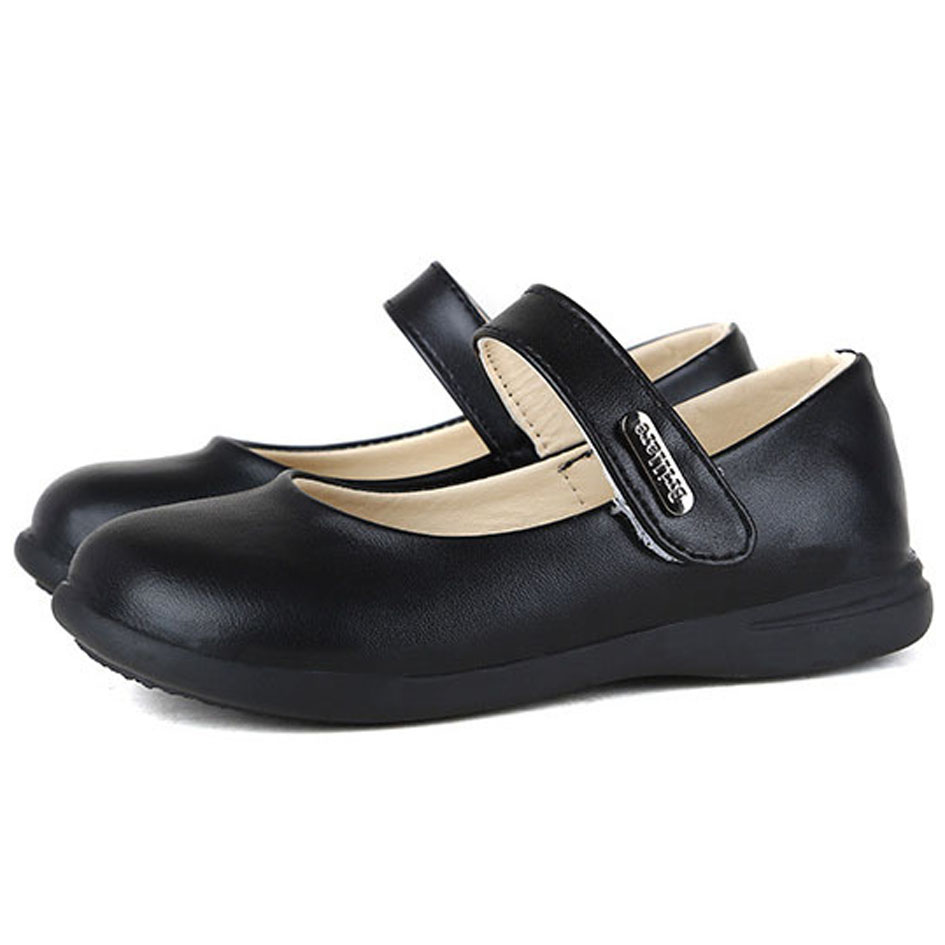 Girls Leather School Shoes Size G