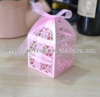Used Wedding Decorations For Sale Party Laser Cut Small Chocolate Wedding Decoration Pink Boxes Made In China Buy Chocolate Wedding Decoration