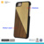 Real marble aluminum and pc hard phone case for iphone 7 case