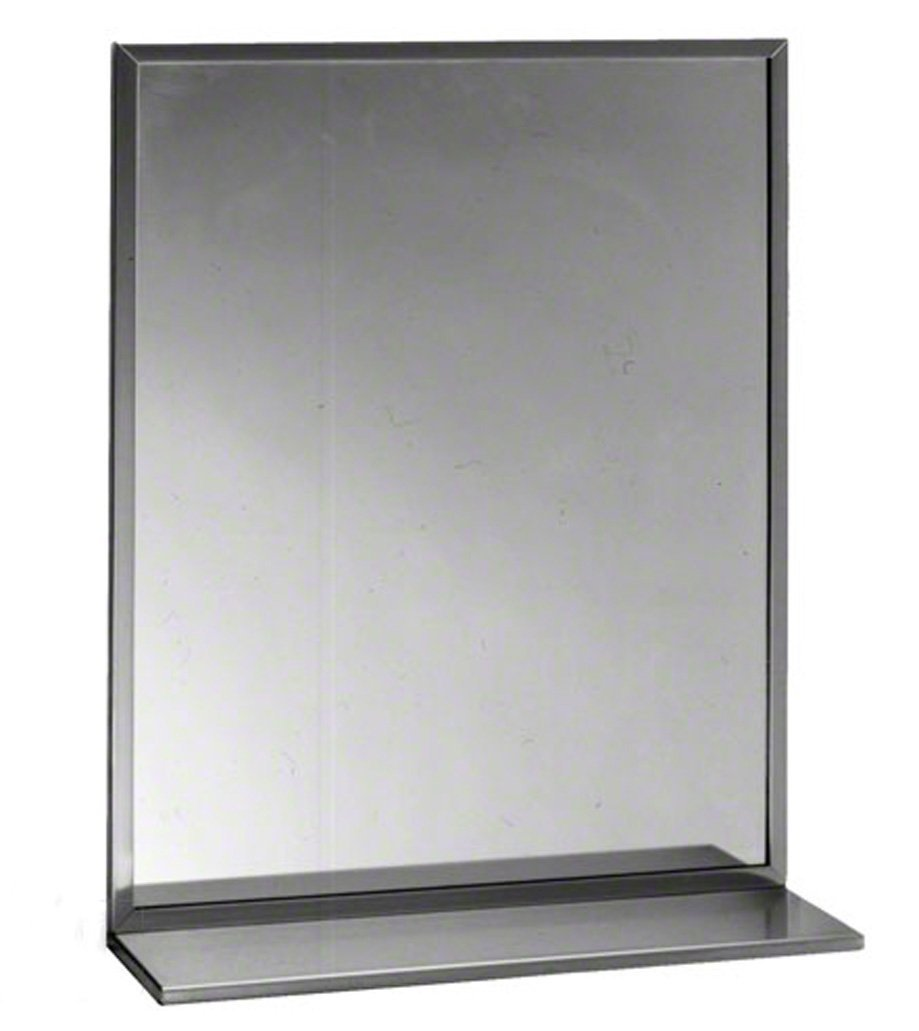 Cheap B 165 Mirror Find Deals On Line At Alibabacom Jerdon Mounted Wiring Diagram Get Quotations Bobrick Series 430 Stainless Steel Channel Frame Glass Bright Finish 48
