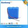 portable lithium battery 1200mah 9v rechargeable battery