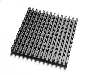 Aluminium 40 x 40 x 11mm Square water cooling heatsink