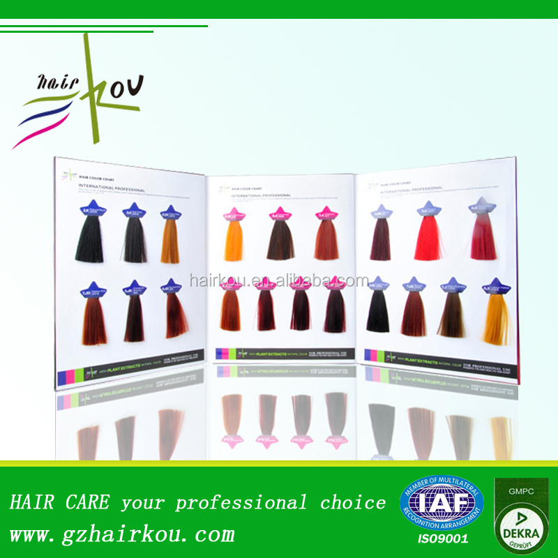 Hot Sale Products High Quality Hair Color Chart Sample Buy High – Sample Hair Color Chart