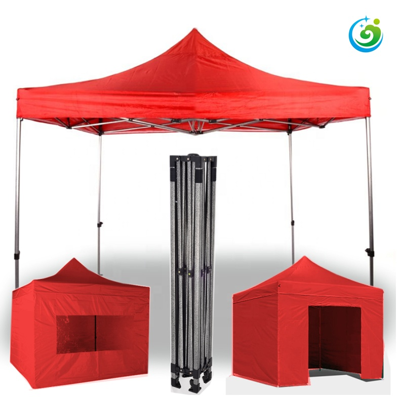 10x20 folding pop-up trade show canopy tent with walls for parties