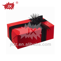 Golden Stamping Paper Gift Box with music led light