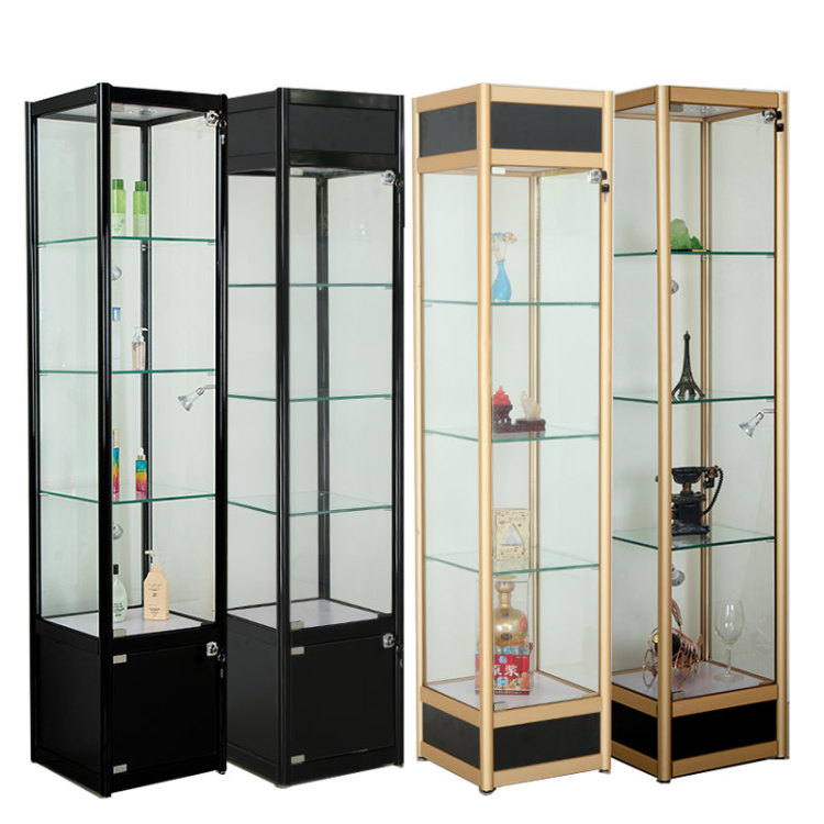 Curio Cabinet With Glass Doors   Buy Glass Vitrine Display Showcase,Cheap  Display Showcases,Accessories Display Showcase Product On Alibaba.com