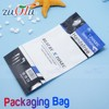 Plastic bag packaging with own logo