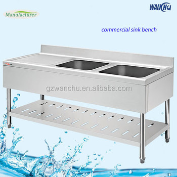 Kitchen Sink Prices In Dubai Double Bowl Stainless Steel With Drainboard For Hotel