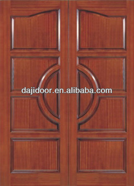 Simple 10 Panel Teak Wood Double Door Designs Exterior Dj S804 Buy