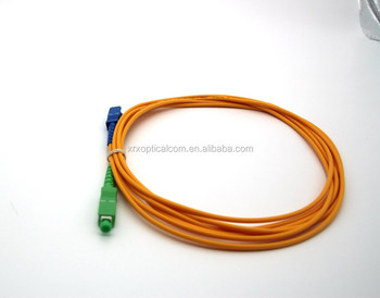 Optic Fiber Simplex SC APC-SC UPC Outdoor Fiber Patch Cord