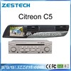 Zestech for citroen c5 radio cd mp3 player tv ipod navigation