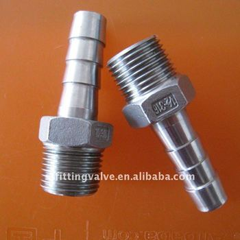 Stainless Steel Hose Tail (Hose Nipple) 150 Class, NPT Male Screw