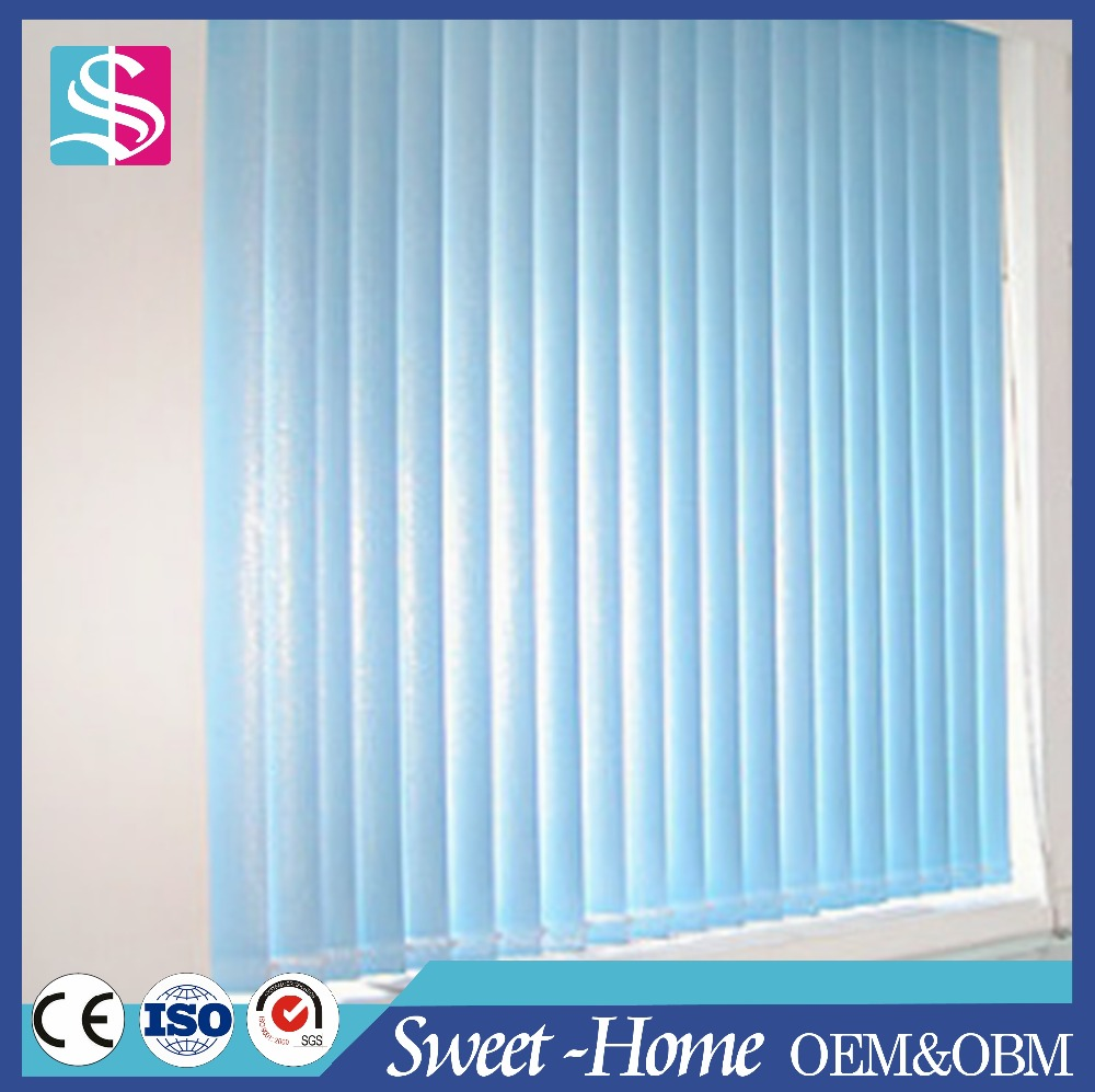 Curtain design wide window vertical blind