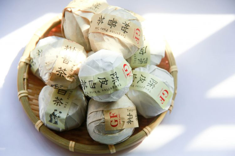 Tangerine White Peony Chinese White Tea price chinese tea brands health benefits - 4uTea | 4uTea.com