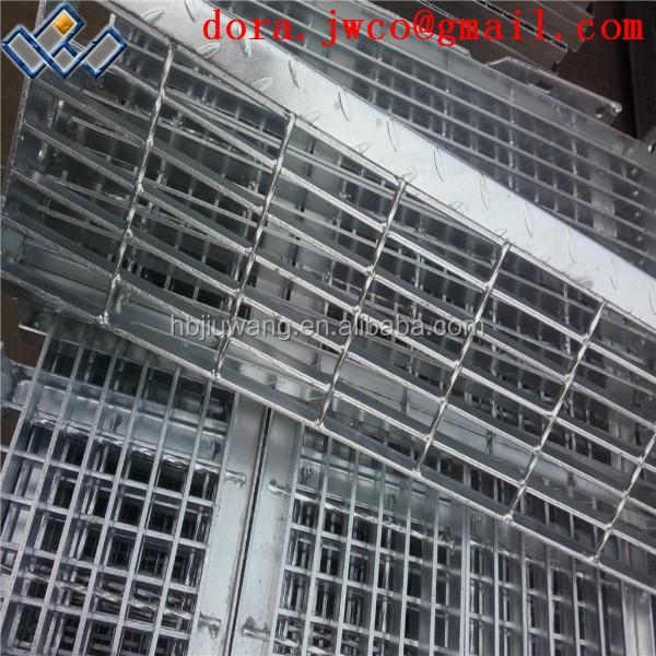 Hebei Anping Metal Outdoor Stairs stair Tread building Steel Grid