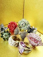 2012 Fahion Jewellery,Rings,Bracelets,Necklace,Pins!!! Rhinestones jewelry! Beautiful designs high fashion!