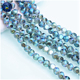 China crystal beads strand High quality beads faceted round glass beads for jewelry making