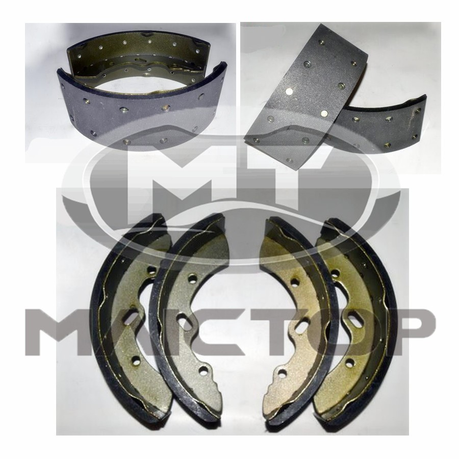 Auto Chassis Parts Brake Shoe For Mitsubishi Fuso F6722