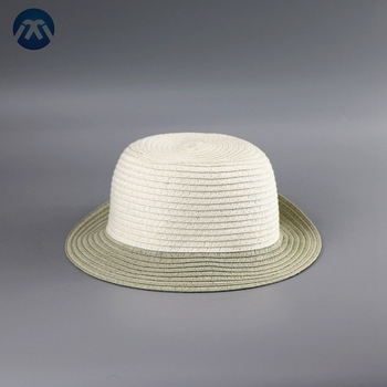 Wholesale summer custom medium size children sun cap kids paper straw hat  for sale ca205f7ce98b