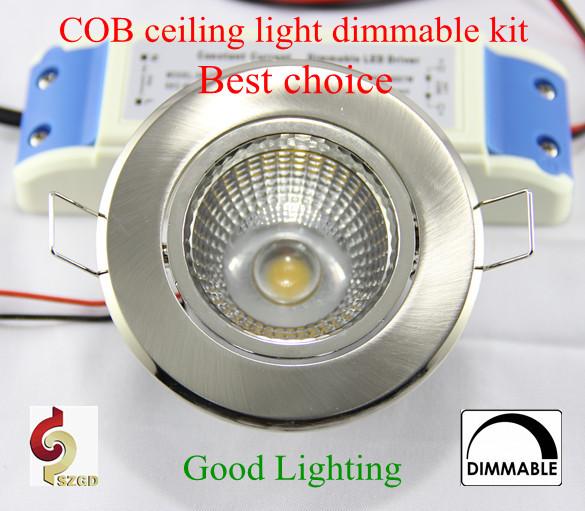 Tween Light Einbauspots Set 5w Led Cob Chip Dimmable Ceiling Dining Room Lighting