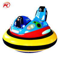 Funfair UFO Inflatable Spin Zone Bumper Cars Stainless Steel Car Bumper On Sale