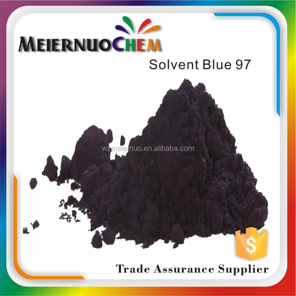 sgs certificate oil soluble solvent blue 97 metallic painting dyestuff