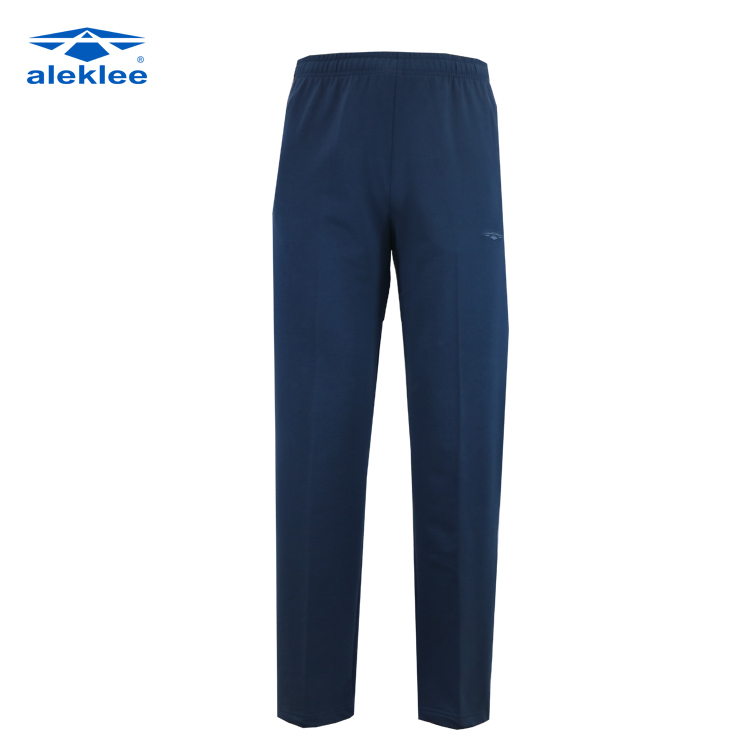 New trend style wholesale 65% polyester 35% cotton custom men jogger pants