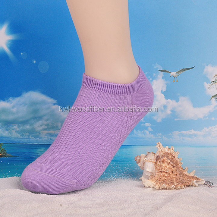 Custom 12 Pack Wood Fiber Lady Low Cut Athletic Socks