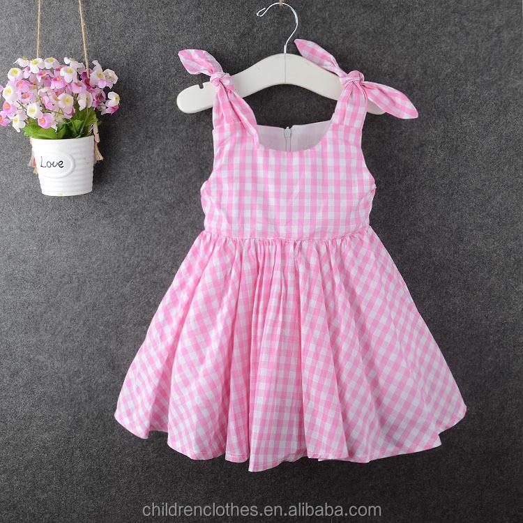 Newest Smart Kids Frock Design Girl Cotton Clothes Cute ...