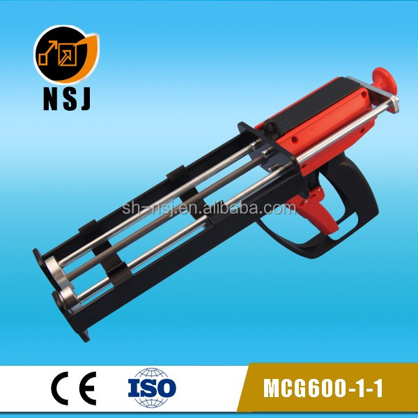 600ml Dual Manual Epoxy Resin Injection Dispenser