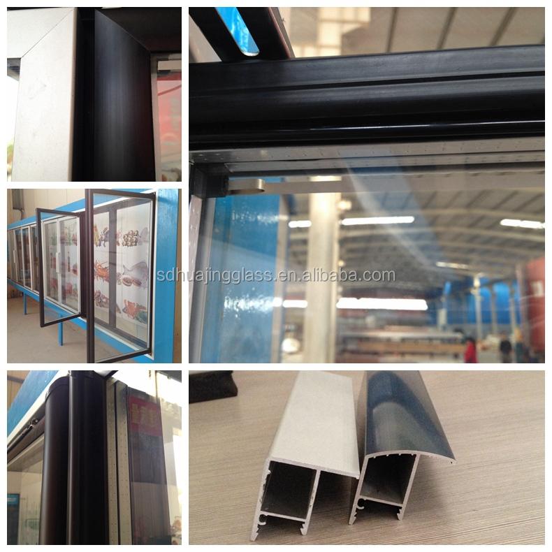 Customized Upright Freezer Mini Fridge Display Cooler Glass Door