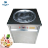 R410A refrigerant cold pan ice pan fry fried ice cream machine/thai fried ice cream machine