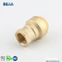 BWVA 100% payment protection low price brass fitting