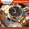 2016 New Promitional Custom Mens Gold Plated Wrist Watch