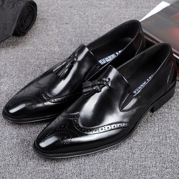 men Wholesale Cheap dress pictures Quality High shoes leather for ODM brogue Custom latest Fq6Tw8gx