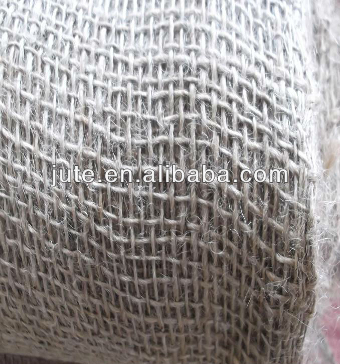 100% jute fabric for mesh netting and packing