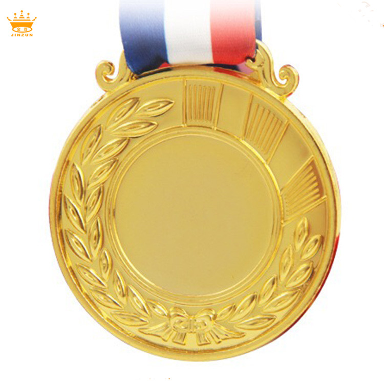 Manufacturing custom award <strong>metal</strong> round with blank medal