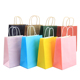 Wholesale Promotion Small Paper Gift Bag With Color and Customized Logo