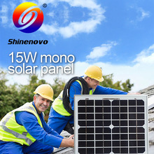 made in China 15 watt PV cell solar panel
