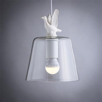 Verwonderlijk Modern Design Pigeon House Decorative Pendant Light / Transparent FR-93