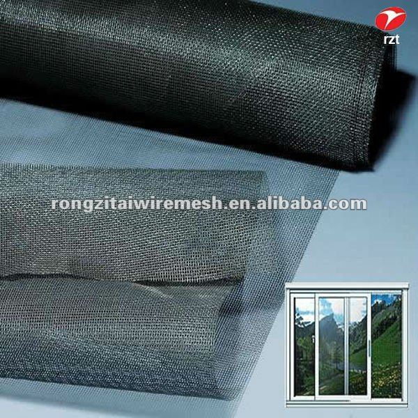 Roll Up Grey Black Green Yellow Fiberglass Fly Screen