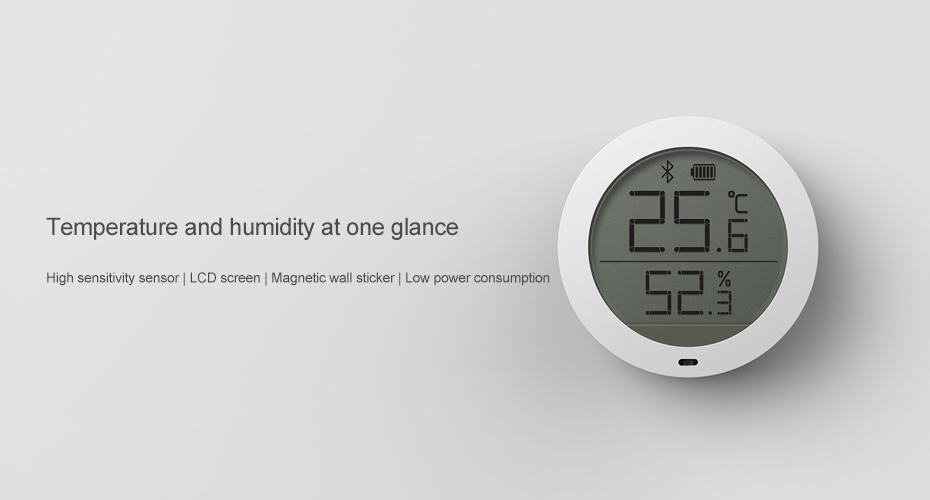 Xiaomi Mijia Bluetooth Humidity Monitor Smart Sensor Digital  Hygrothermograph Hygrometer Thermometer Lcd Screen Moisture Meter - Buy  Xiaomi Humidity